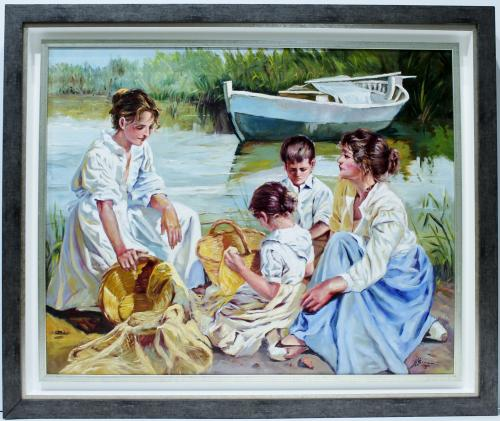 JOSE LUIS GINER : Mujeres en la orilla 145542