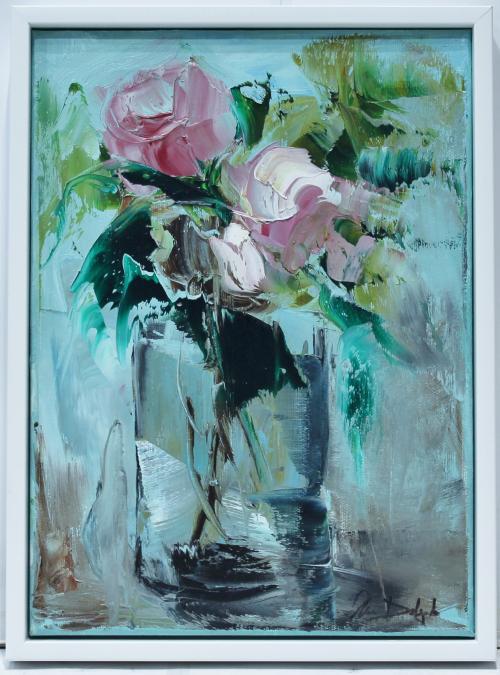 ANA DELGADO : Rosas rosas 145591