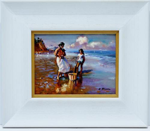 RAFAEL ATENCIA : Figuras en la playa 145833