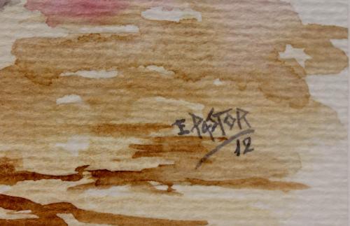 EUGENIA PASTOR : TORO CORRIENDO 140679