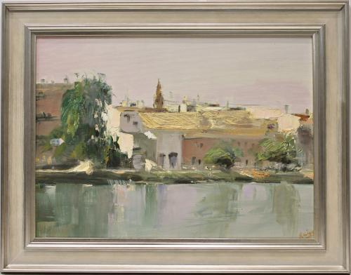 MANUEL REINA. Vista de Sevilla. Ref. 145361