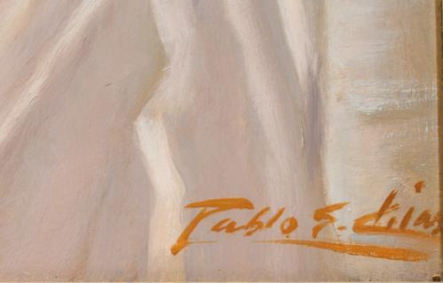 PABLO S. CHIAS : CABEZA DE MUJER ORIENTALISTA 144045