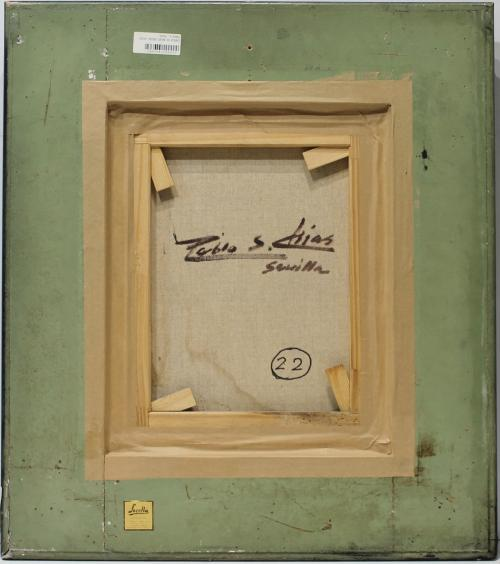 PABLO S. CHIAS : CABEZA DE MUJER ORIENTALISTA 144036