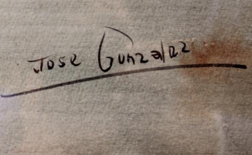 JOSE GONZALEZ : Torero 145655