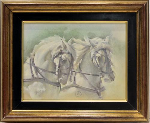 BENITO MORENO : Cabeza de caballo 145660