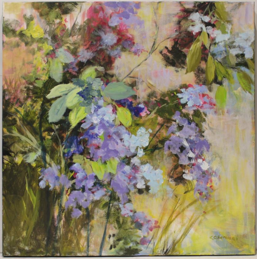 CARMEN SCHAMANN : Flores malvas 145550