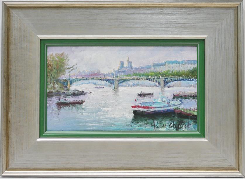PIERRE CHIFLET : Paisaje parisino. 145261