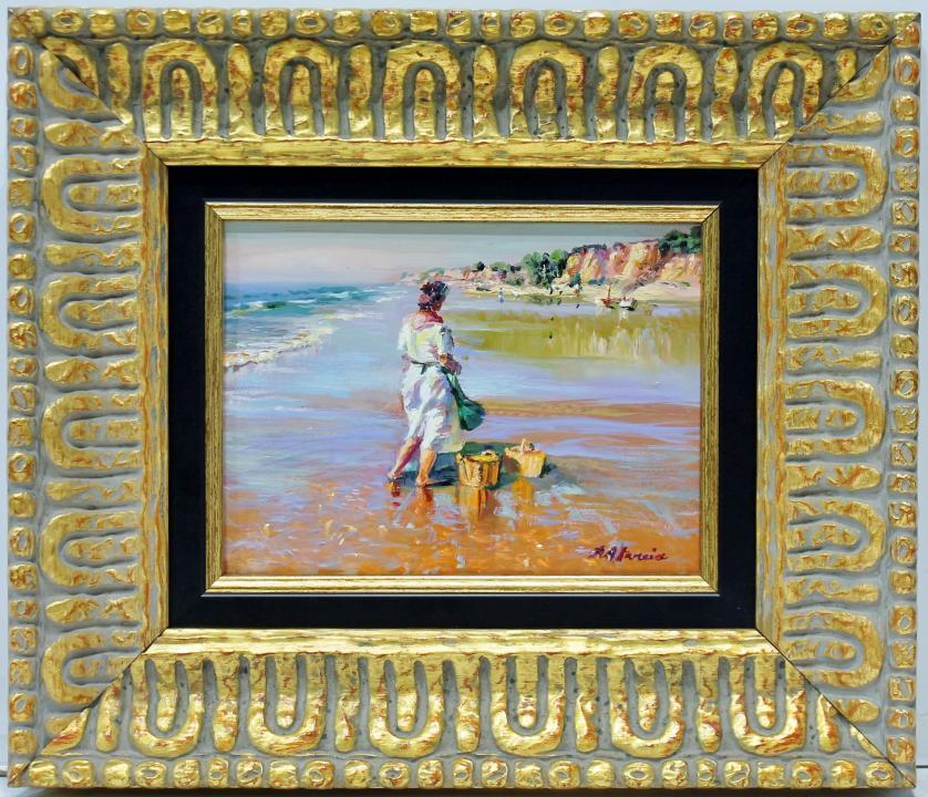 RAFAEL ATENCIA : Figuras en la playa 145827