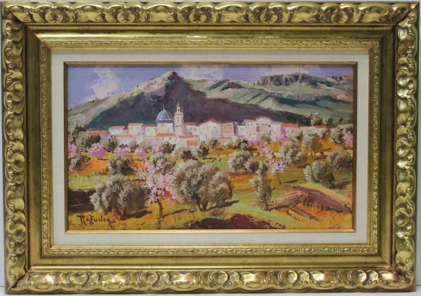 RAFAEL FUSTER INSA : Vista de pueblo 144177