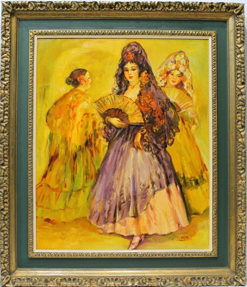 ELADIA. Mujeres con mantilla. Ref. 145193