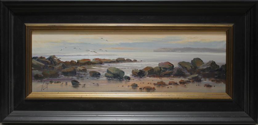 VALLS. Marina y rocas. Ref. 113926