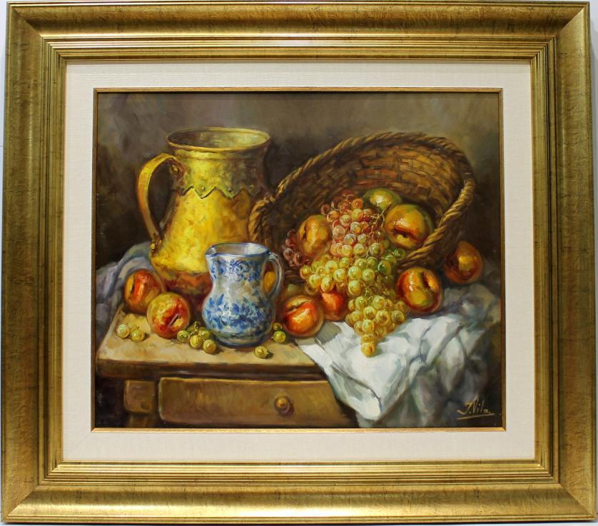 J. VILA. Bodegón frutas. Ref. 144457